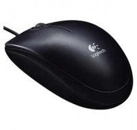 Logitech B110 Optical Mouse USB Black 910-001246