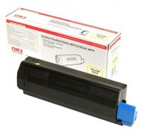 OKI C5250 High Yield Yellow Toner Cartridge 42127454