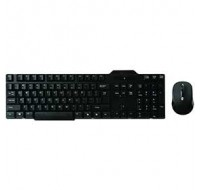 Q-Connect Wireless Keyboard / Mouse Black KF15397