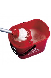 Contico Mop Bucket Wringer Red 15 Litre SM15RD - Cleaning Buckets