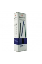 Acco Gbc Binding Comb 8Mm A4 21-Ring Black 4028174