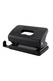 Q-Connect Black Light Duty Hole Punch KF01233
