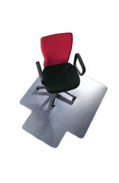 Q-Connect Clear PVC Chairmat 1143 x 1346mm KF02256