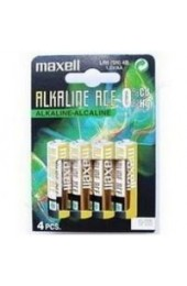 Maxell Alkaline Battery LR6/AA MN1500 723882 Pack Of 4 - AA Battery