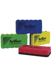 Artline Pack Of 4 Assorted Magnetic Whiteboard Erasers