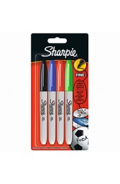 Sharpie 08 Assorted Pack Of Fine Permanent Markers S0810970