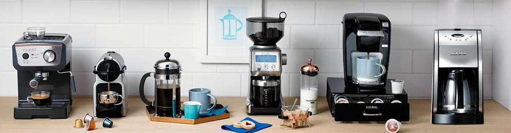 Several Different Types of Coffee Machine
